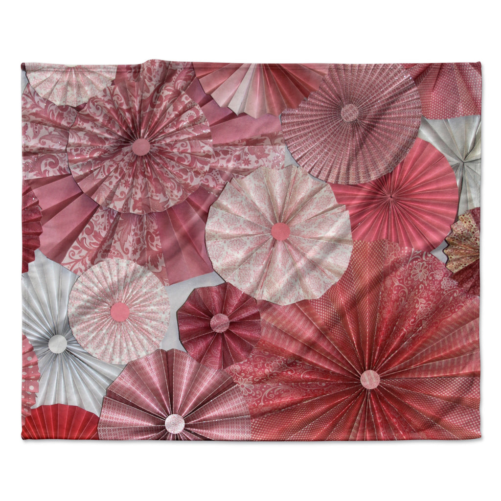 "Heidi Jennings ""Lovesick"" Pink Fleece Throw Blanket"