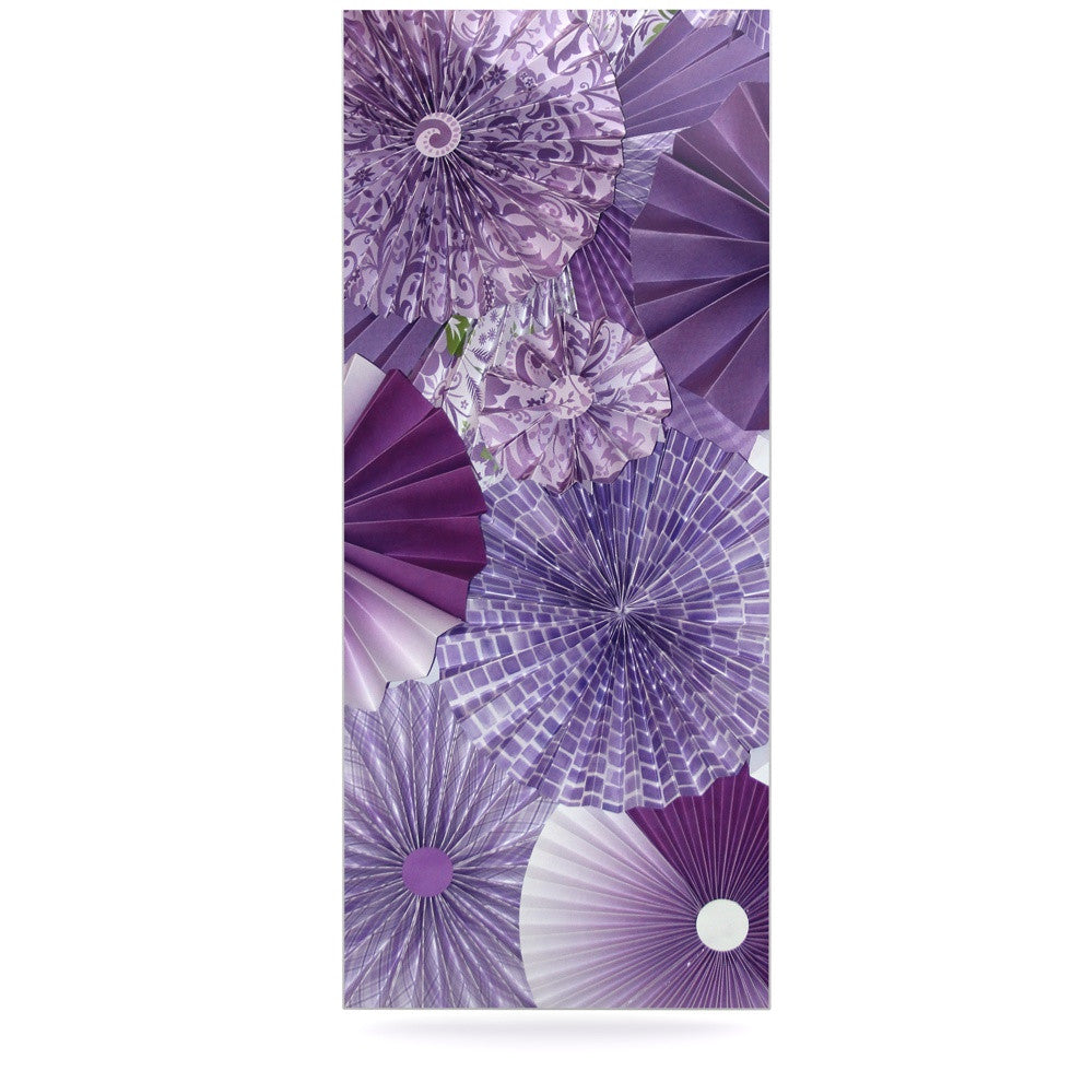 "Heidi Jennings ""Lavender Wishes"" Purple Luxe Rectangle Panel - KESS InHouse  - 1"