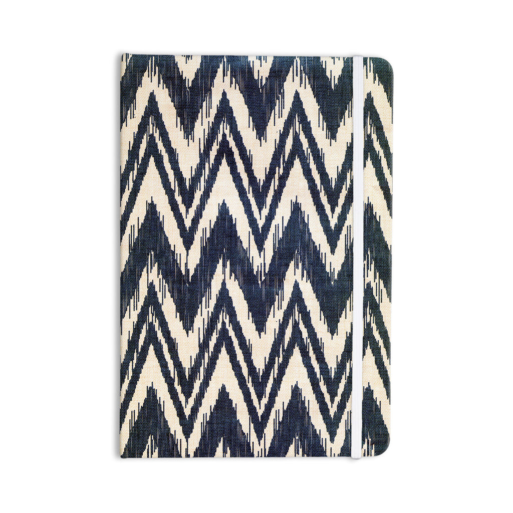 "Heidi Jennings ""Tribal Chevron Black"" Everything Notebook - KESS InHouse  - 1"
