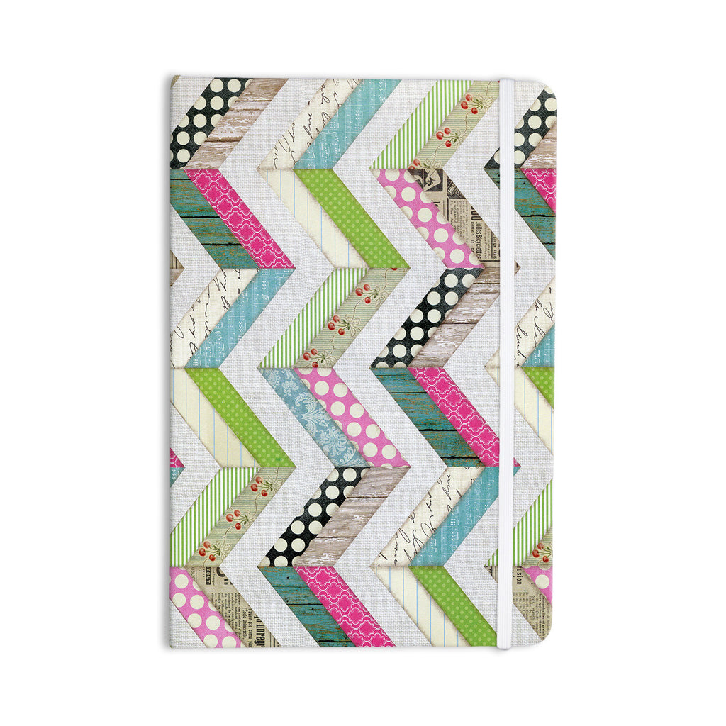 "Heidi Jennings ""Fabric Much?"" Colored Cloth Everything Notebook - KESS InHouse  - 1"