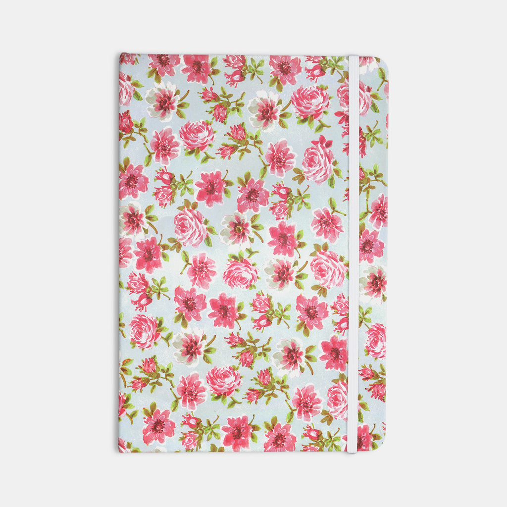 "Heidi Jennings ""Petals Forever"" Blue Pink Everything Notebook - KESS InHouse  - 1"