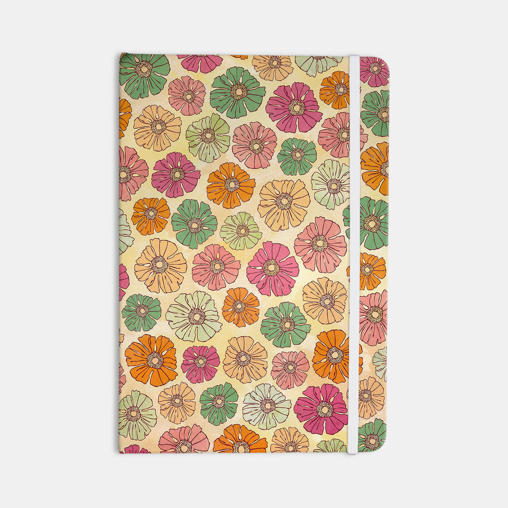 "Heidi Jennings ""Vintage Petals"" Tan Pink Everything Notebook - KESS InHouse  - 1"