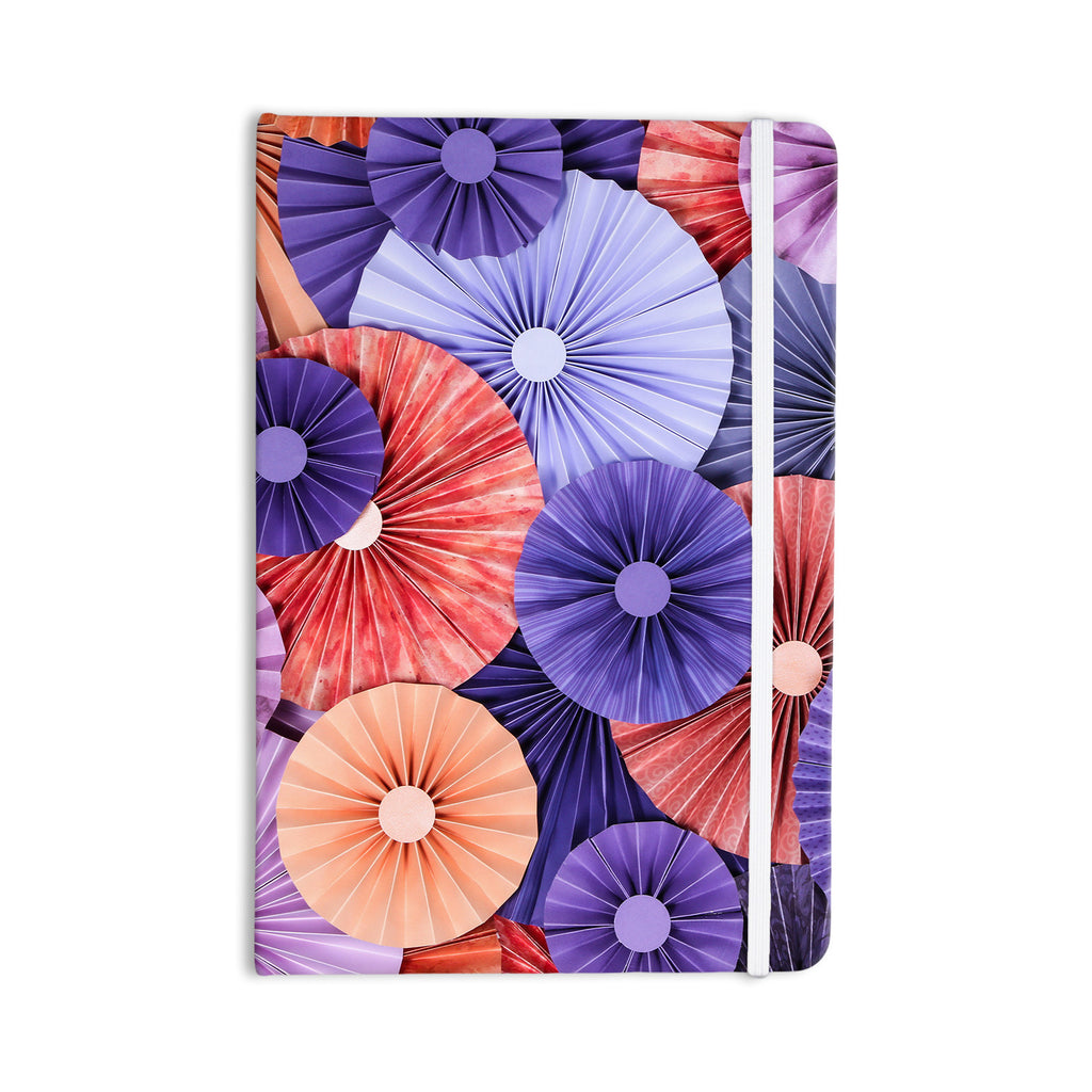 "Heidi Jennings ""Raspberry Sherbert"" Purple Blue Everything Notebook - KESS InHouse  - 1"