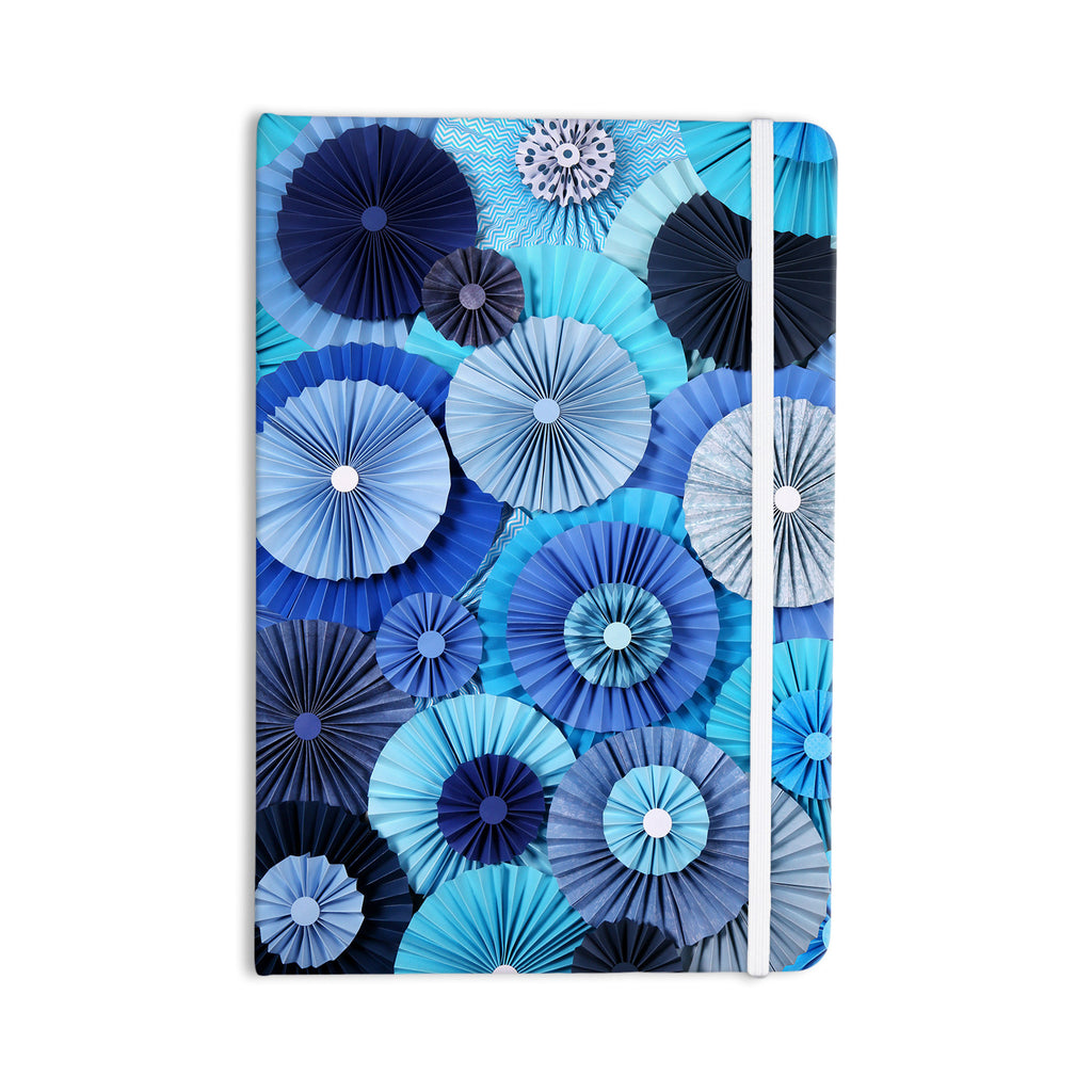 "Heidi Jennings ""Blue Lagoon"" Aqua Navy Everything Notebook - KESS InHouse  - 1"