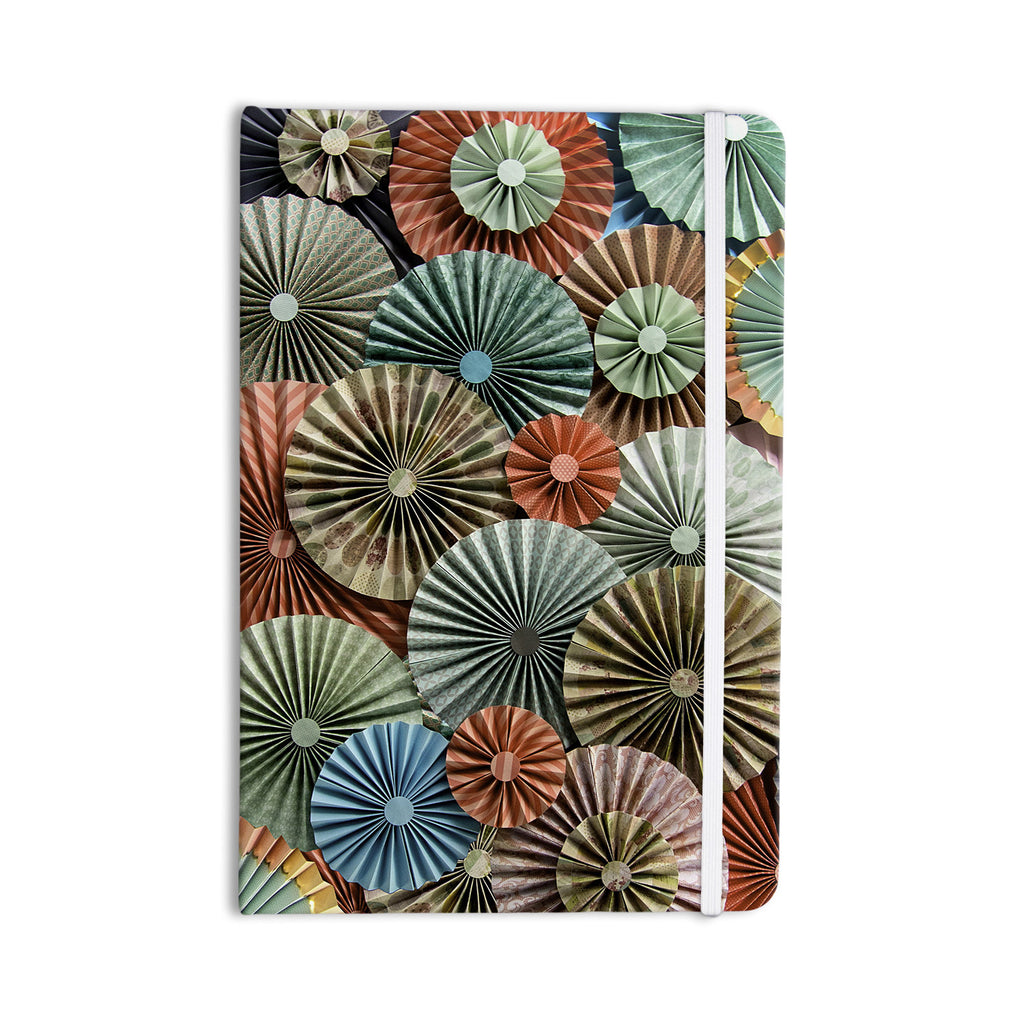 "Heidi Jennings ""Sherbert"" Teal Brown Everything Notebook - KESS InHouse  - 1"