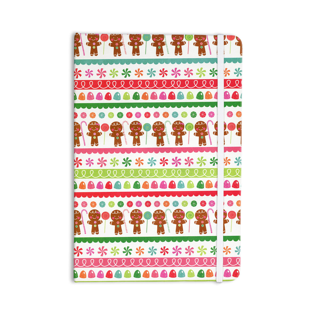 "Heidi Jennings ""Gumdrop Buttons"" Gingerbread Everything Notebook - KESS InHouse  - 1"