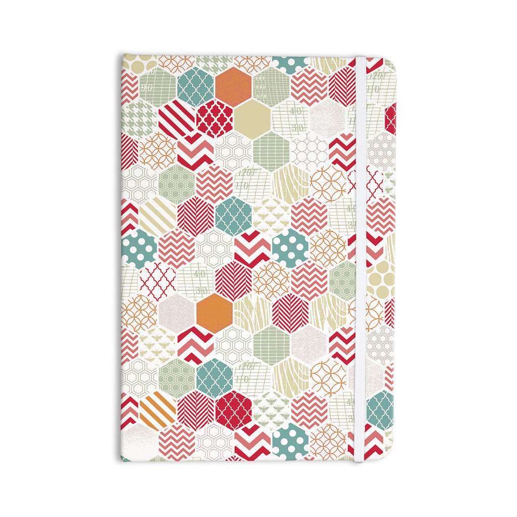 "Heidi Jennings ""Geo Pastel"" Geometric Everything Notebook - KESS InHouse  - 1"