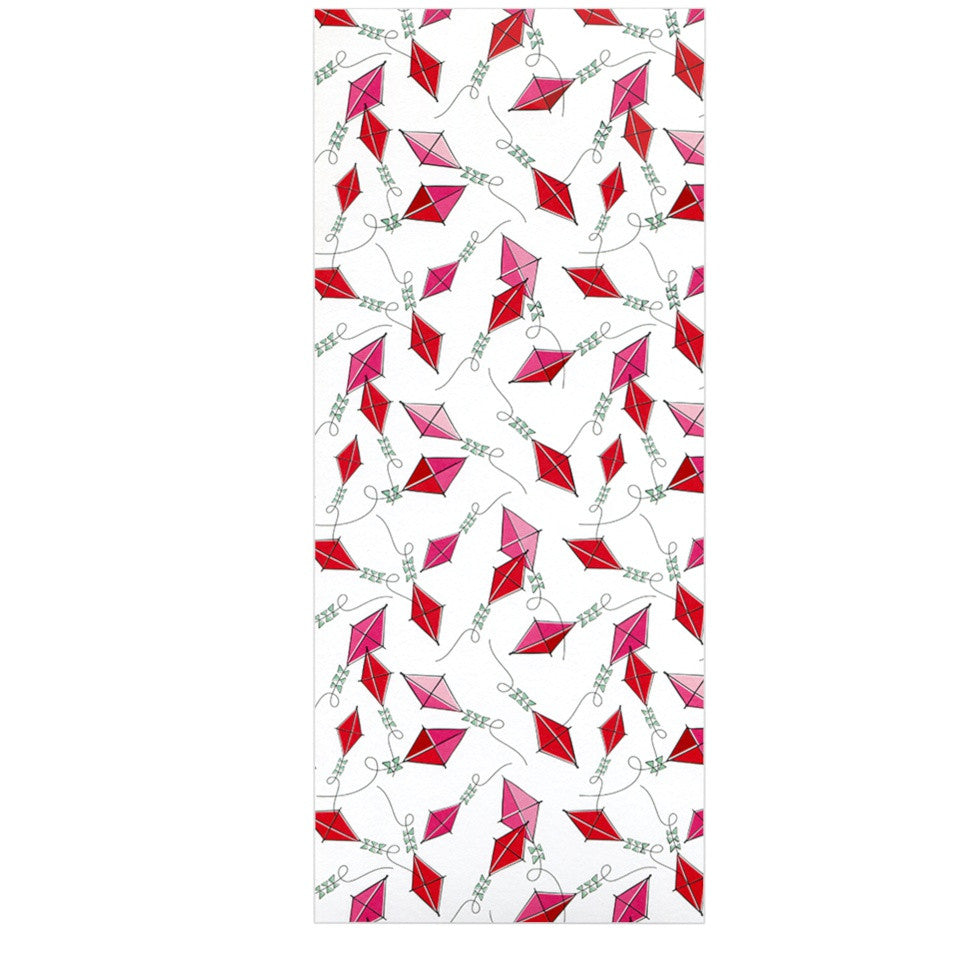 "Heidi Jennings ""Go Fly A Kite"" White Pink Luxe Rectangle Panel - KESS InHouse  - 1"