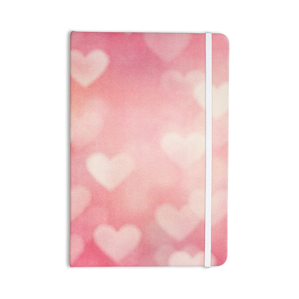 "Heidi Jennings ""Love is in the Air"" Pink Everything Notebook - KESS InHouse  - 1"