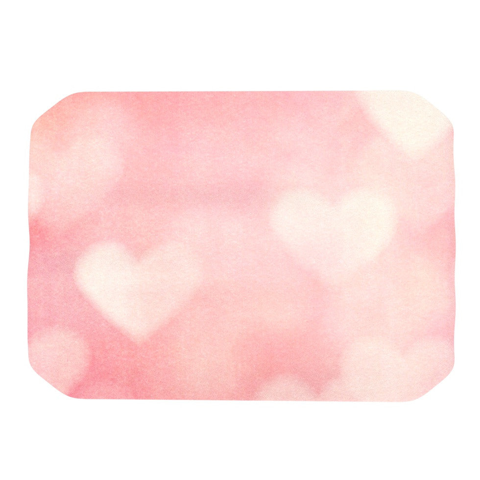 "Heidi Jennings ""Love is in the Air"" Pink Place Mat - KESS InHouse"