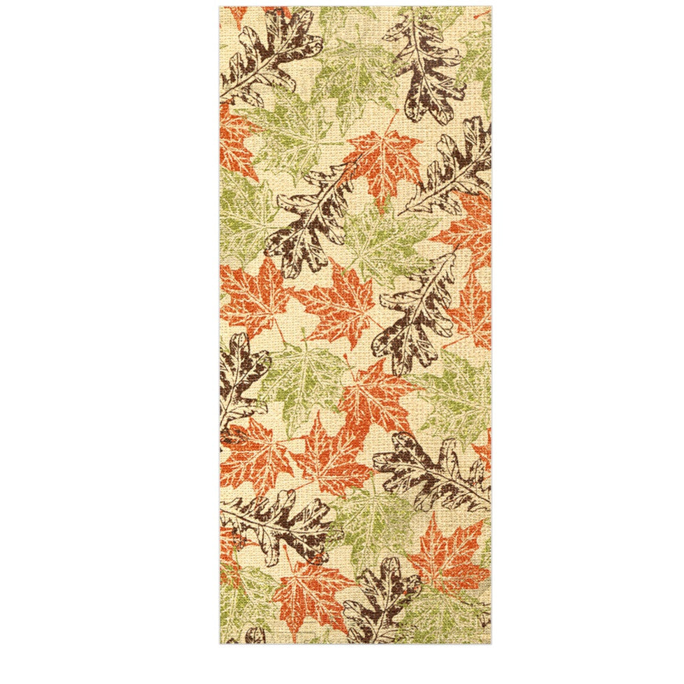 "Heidi Jennings ""Leaf it to Me"" Green Brown Luxe Rectangle Panel - KESS InHouse  - 1"