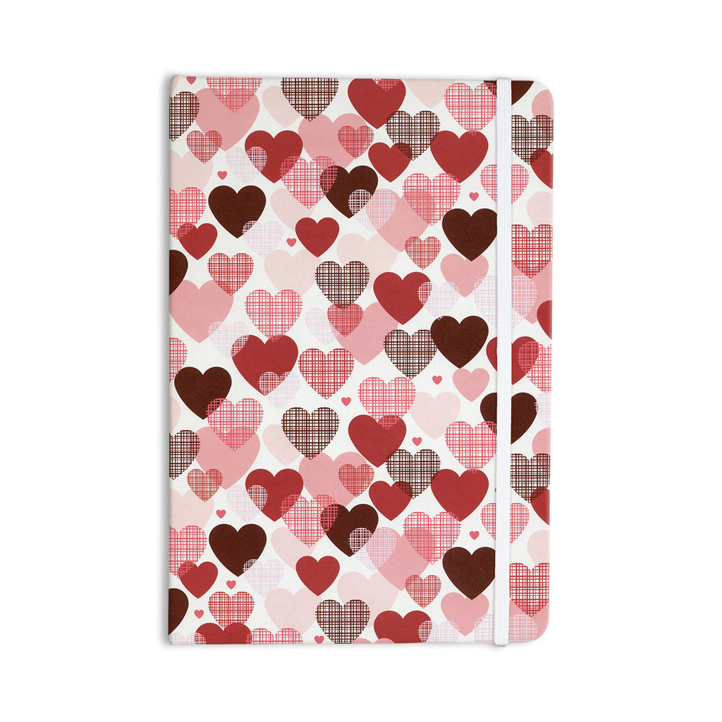 "Heidi Jennings ""Love"" Pink Red Everything Notebook - KESS InHouse  - 1"