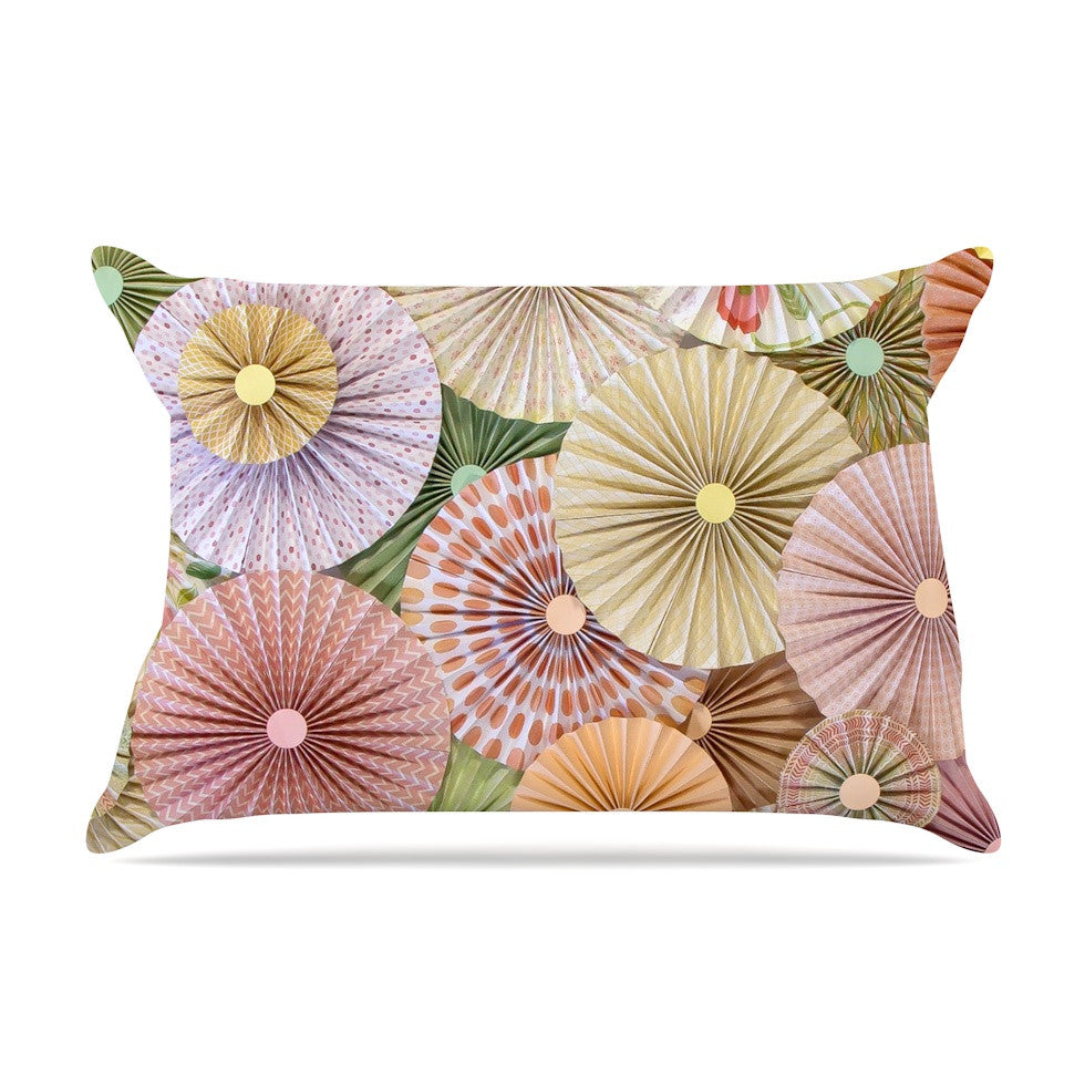 "Heidi Jennings ""Spring"" Pastels Abstract Pillow Sham - KESS InHouse"