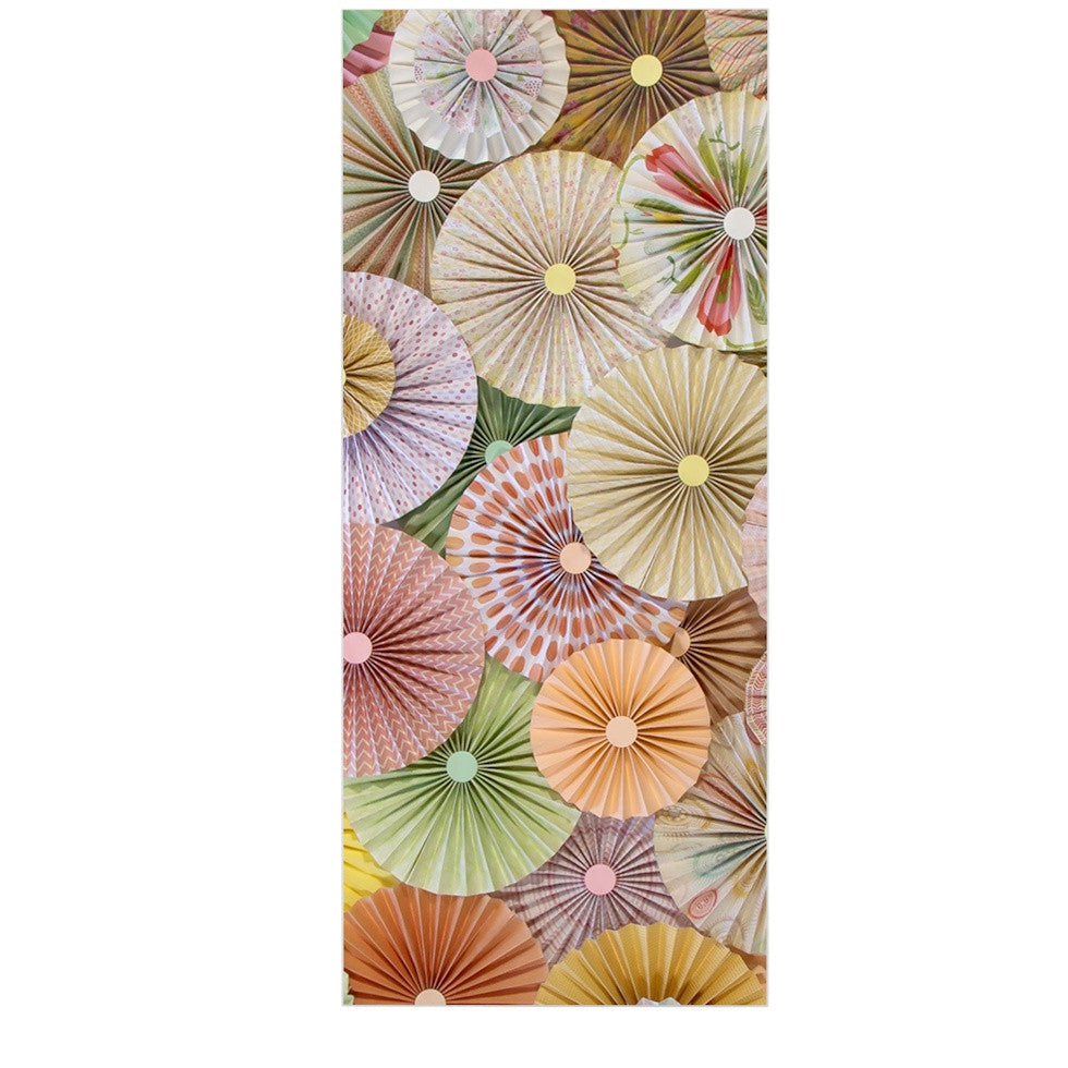 "Heidi Jennings ""Spring"" Pastels Abstract Luxe Rectangle Panel - KESS InHouse  - 1"