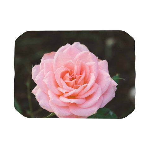"Heidi Jennings ""Pink Rose"" Pink Floral Nature Mixed Media Photography Place Mat"