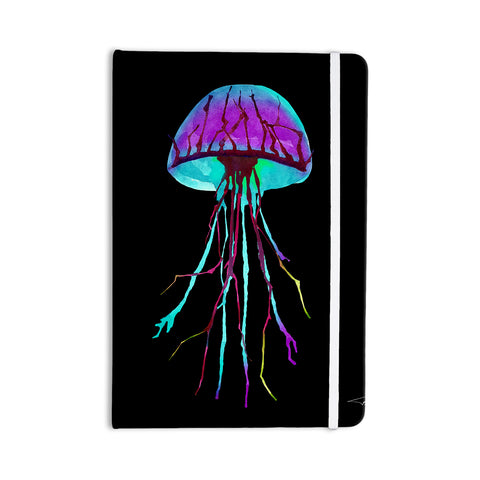 "Ivan Joh ""Night Of Jellyfish"" Black Purple Everything Notebook - Outlet Item"
