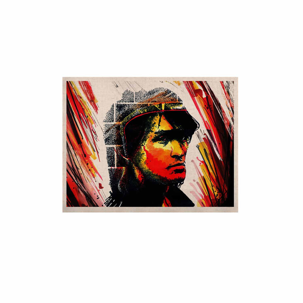 "Ivan Joh ""Tsoi Is Alive"" Red People KESS Naturals Canvas (Frame not Included) - KESS InHouse  - 1"
