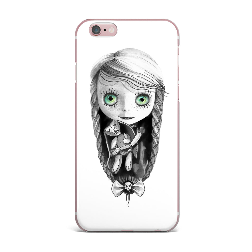 "Ivan Joh ""Pretty"" Black Green Painting iPhone Case - KESS InHouse"