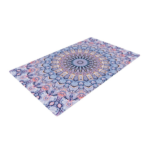 "Iris Lehnhardt ""Summer Lace II"" Woven Area Rug - Outlet Item"
