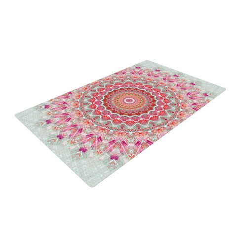 "Iris Lehnhardt ""Summer Lace III"" Woven Area Rug - Outlet Item"