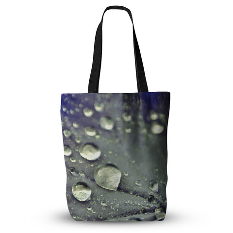 "Iris Lehnhardt ""Water Droplets Blue"" Tote Bag - Outlet Item"