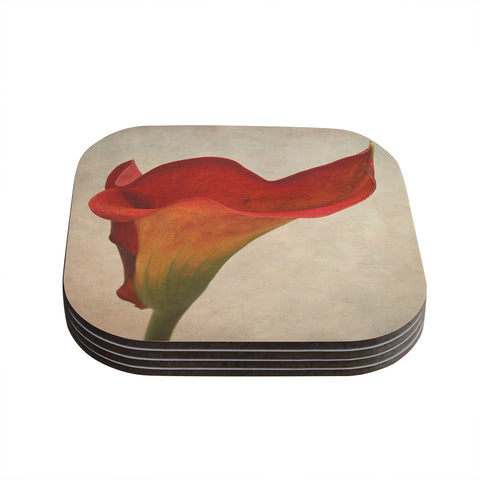 "Iris Lehnhardt ""Calla"" Coaster Set - Outlet Item"