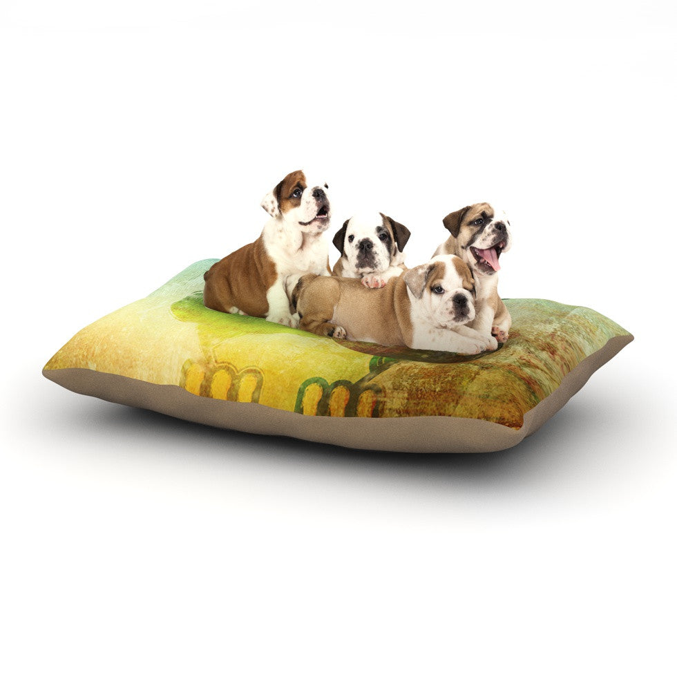 "iRuz33 ""Howly"" Dog Bed - KESS InHouse  - 1"
