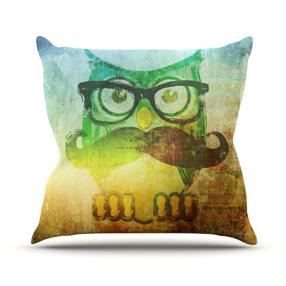 "iRuz33 ""Howly"" Throw Pillow - KESS InHouse  - 1"
