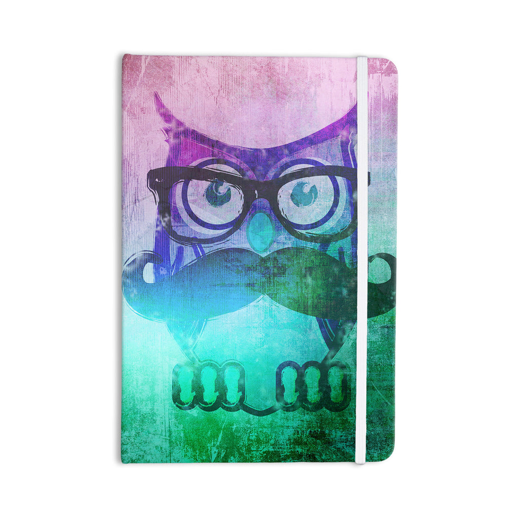 "iRuz33 ""Showly Teal"" Everything Notebook - KESS InHouse  - 1"
