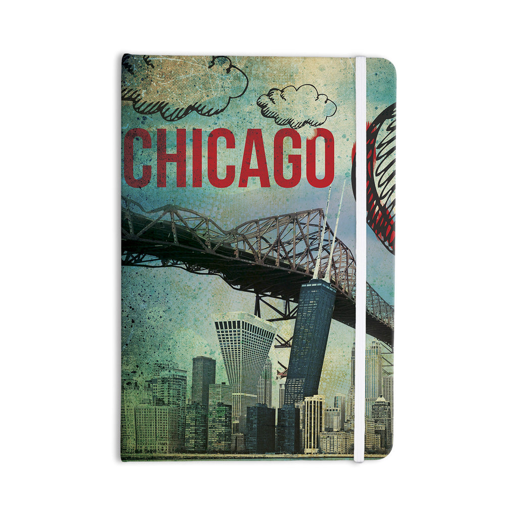 "iRuz33 ""Chicago"" Everything Notebook - KESS InHouse  - 1"
