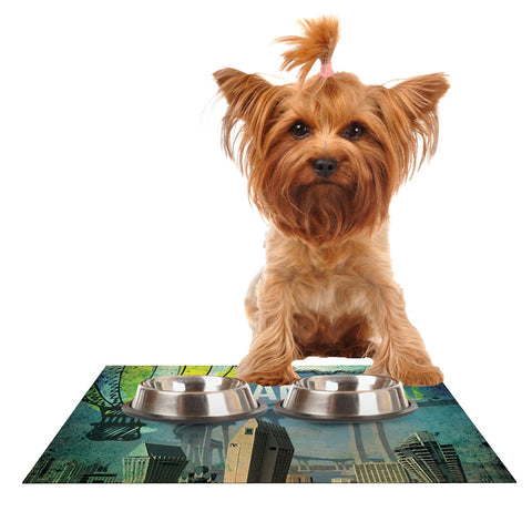 "iRuz33 ""San Diego""  Dog Place Mat - Outlet Item"