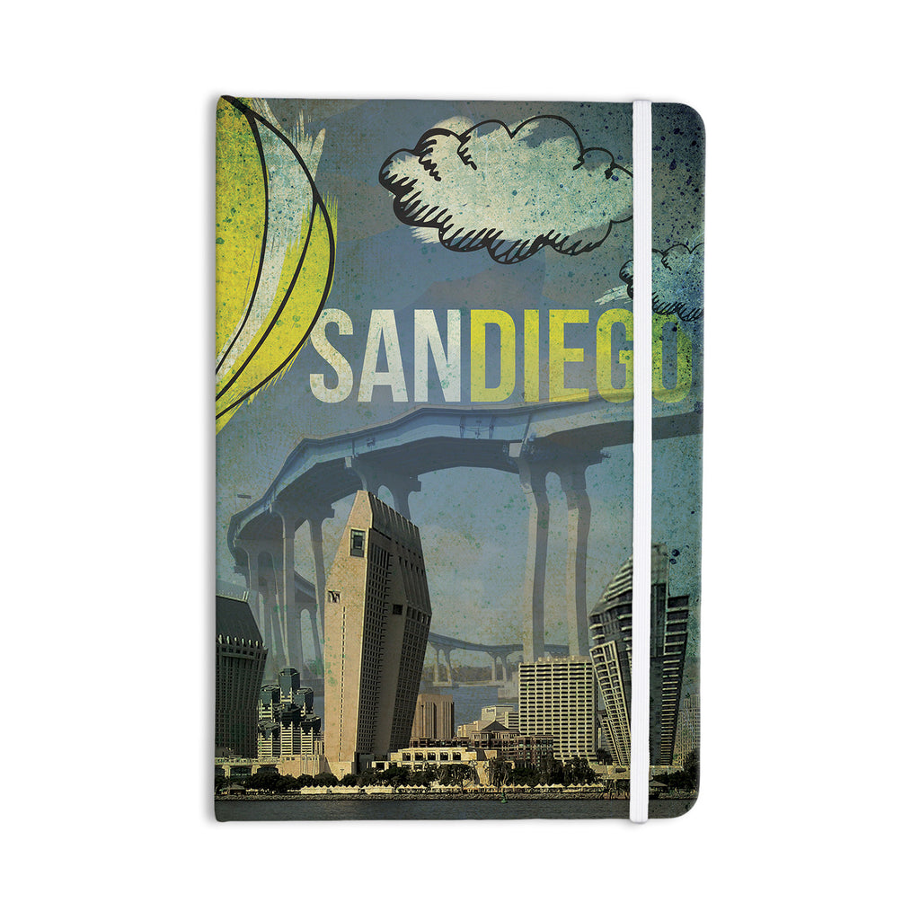 "iRuz33 ""San Diego"" Everything Notebook - KESS InHouse  - 1"