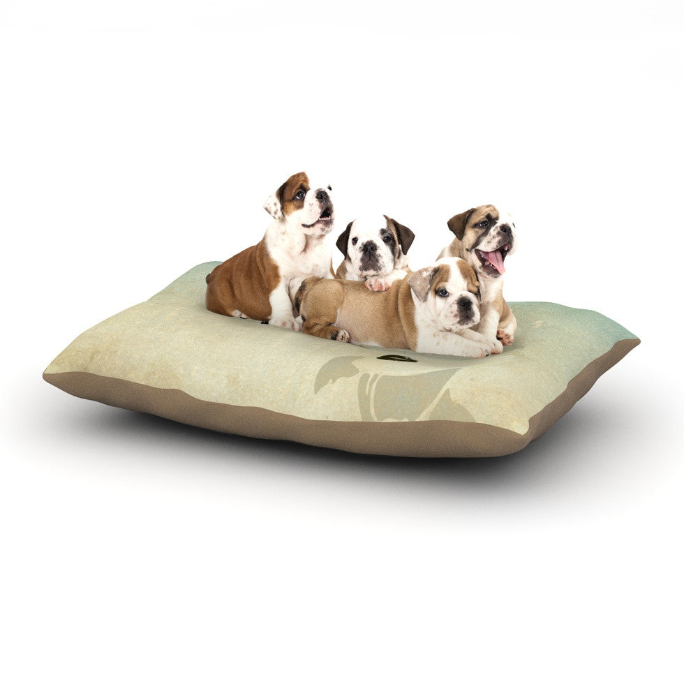 "iRuz33 ""KESS Me"" Dog Bed - KESS InHouse  - 1"
