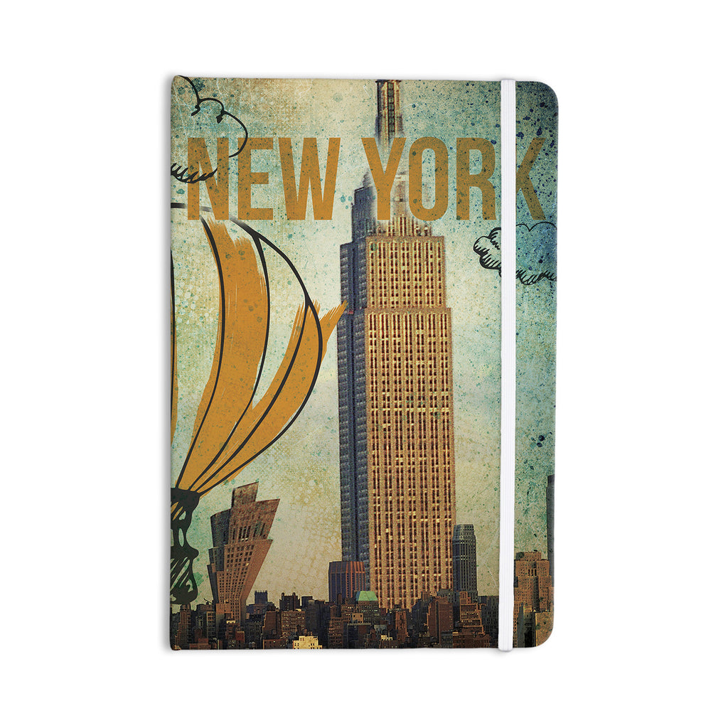 "iRuz33 ""New York"" Everything Notebook - KESS InHouse  - 1"