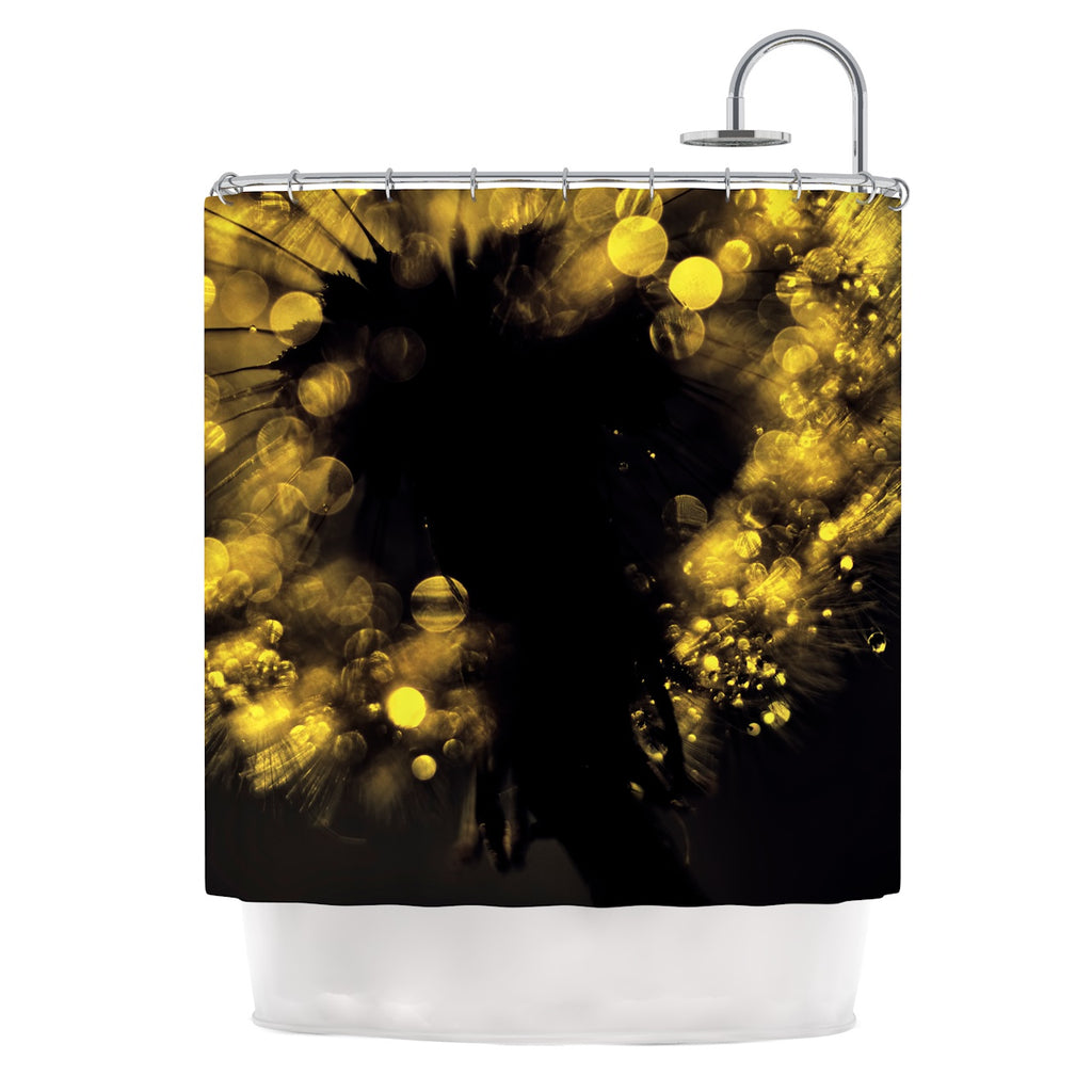 "Ingrid Beddoes ""Moonlight Dandelion"" Shower Curtain - KESS InHouse"