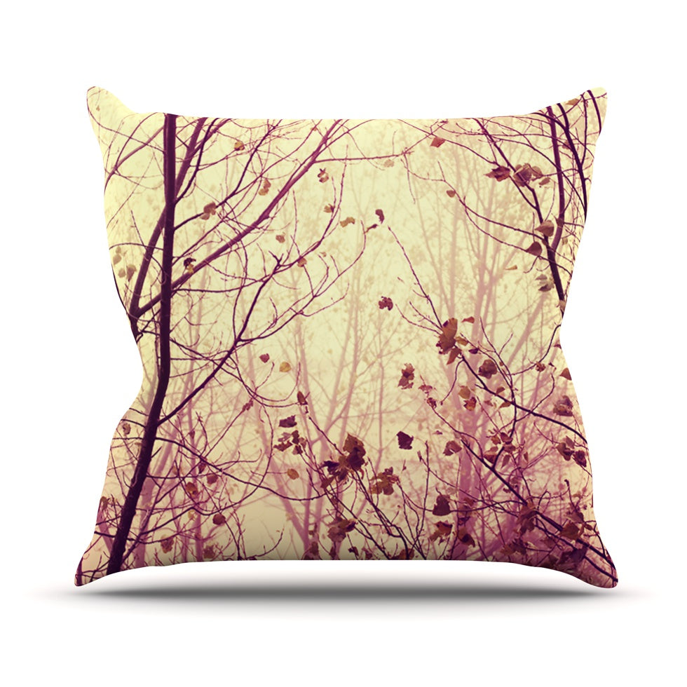 "Ingrid Beddoes ""My Secret Garden"" Outdoor Throw Pillow - Outlet Item"