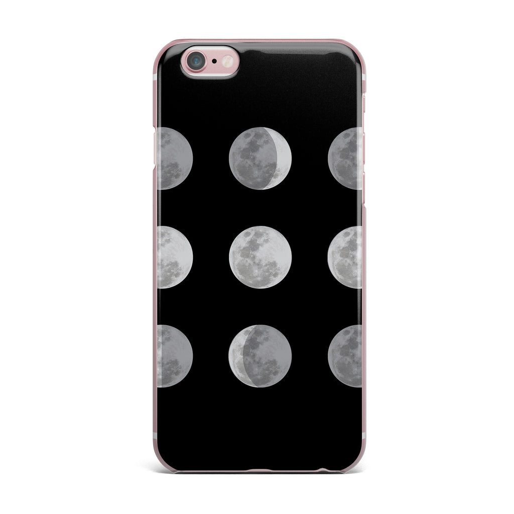 "Jackie Rose ""Lunar OCD"" Black Gray iPhone Case - KESS InHouse"