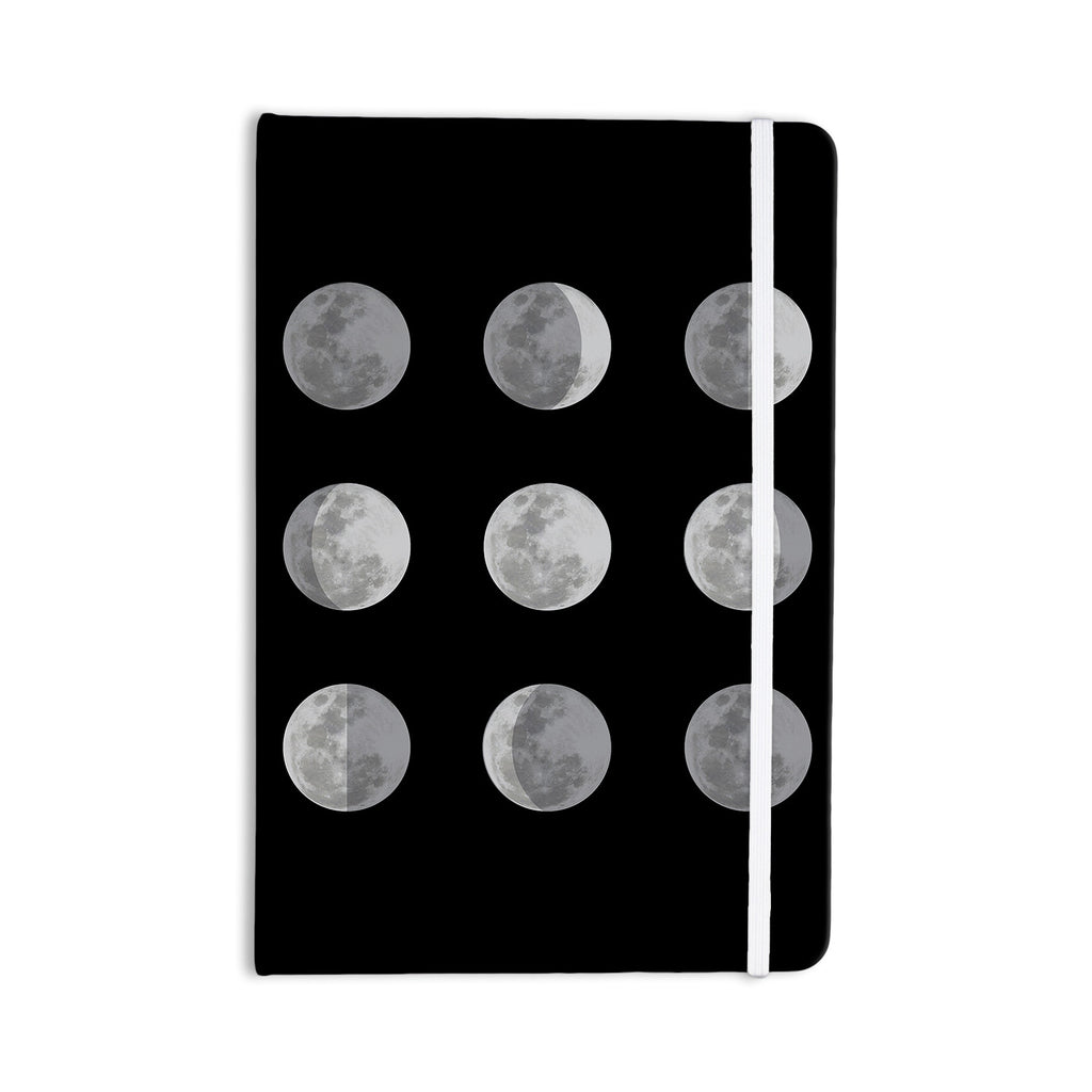 "Jackie Rose ""Lunar OCD"" Black Gray Everything Notebook - KESS InHouse  - 1"