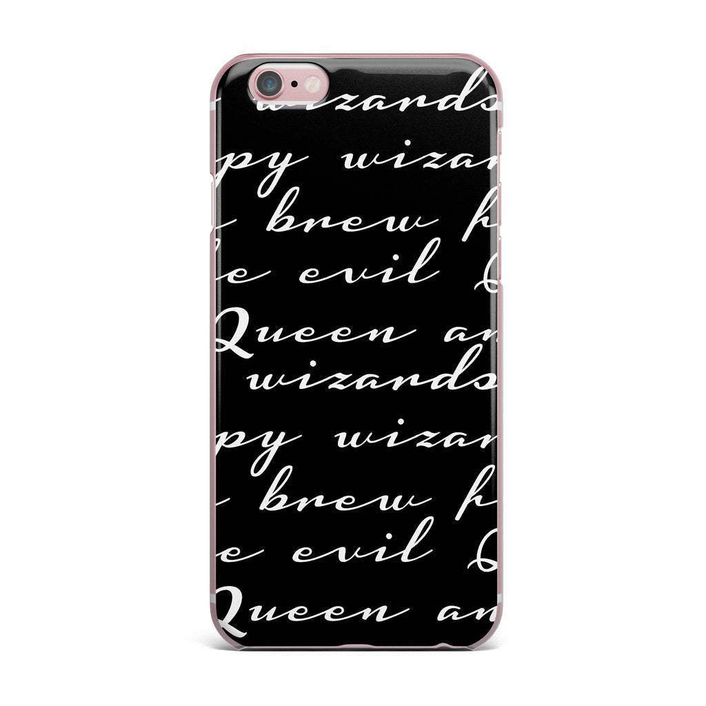 "Jackie Rose ""Grumpy Wizards"" Typography iPhone Case - KESS InHouse"