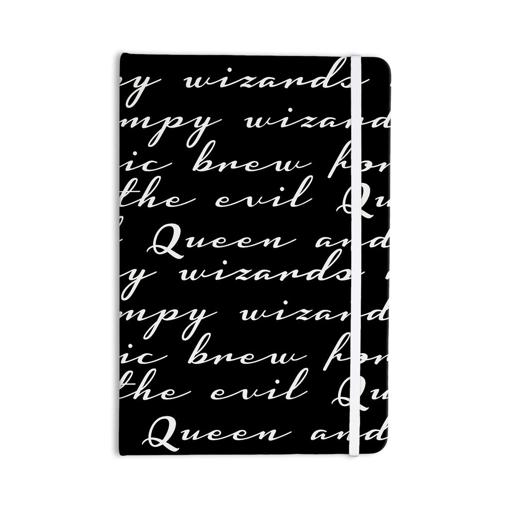 "Jackie Rose ""Grumpy Wizards"" Typography Everything Notebook - KESS InHouse  - 1"