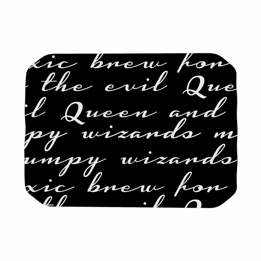 "Jackie Rose ""Grumpy Wizards"" Typography Place Mat - KESS InHouse"