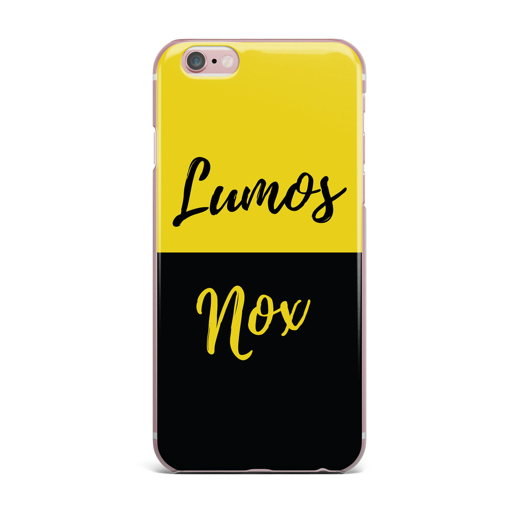 "Jackie Rose ""Turn On The Light"" Yellow Typography iPhone Case - KESS InHouse"