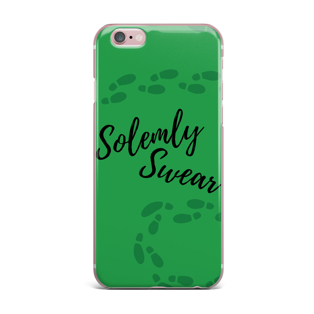 "Jackie Rose ""Solemly Swear"" Green Illustration iPhone Case - KESS InHouse"