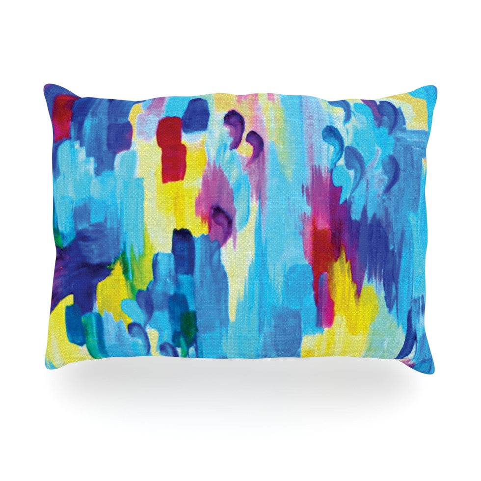 "Ebi Emporium ""Don't Quote Me, Revisited"" Oblong Pillow - KESS InHouse"