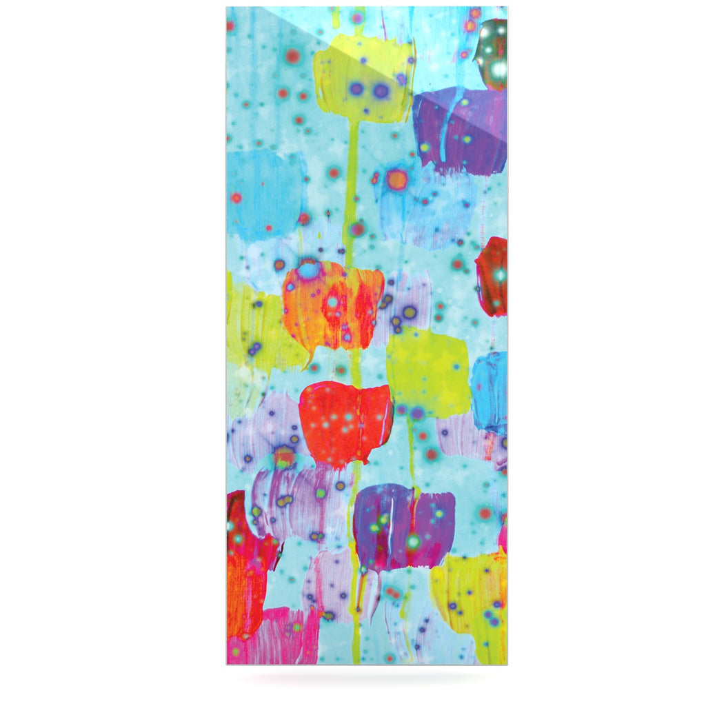 "Ebi Emporium ""Speckle Me Dotty"" Luxe Rectangle Panel - KESS InHouse  - 1"