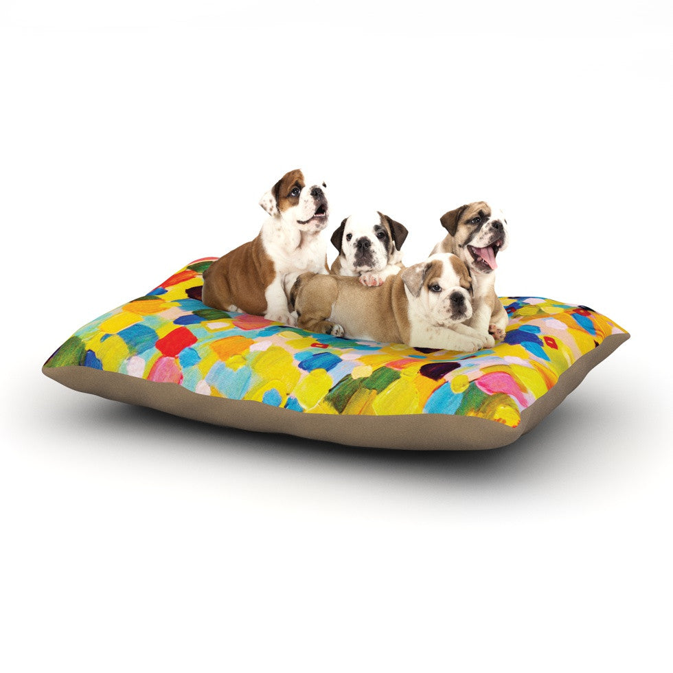 "Ebi Emporium ""Swept Away"" Dog Bed - KESS InHouse  - 1"