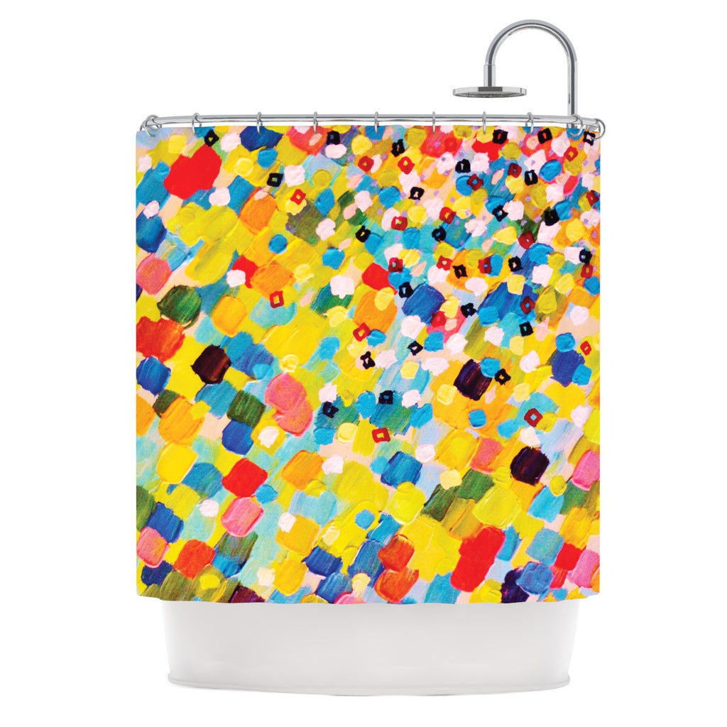 "Ebi Emporium ""Swept Away"" Shower Curtain - KESS InHouse"