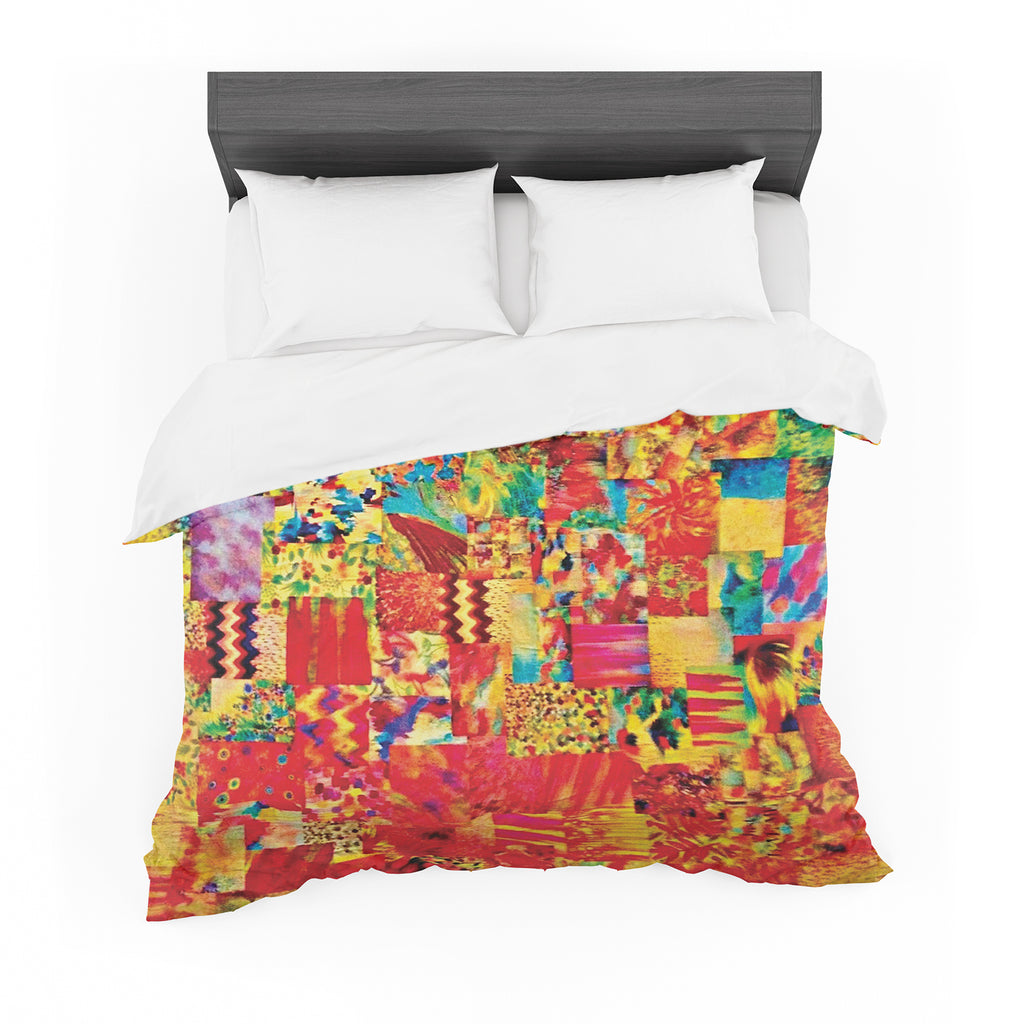 "Ebi Emporium ""Painting The Soul"" Featherweight Duvet Cover"
