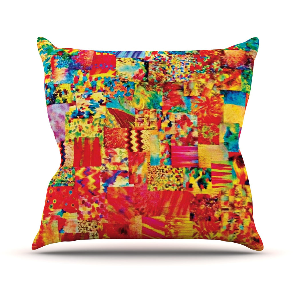"Ebi Emporium ""Painting the Soul"" Throw Pillow - KESS InHouse"
