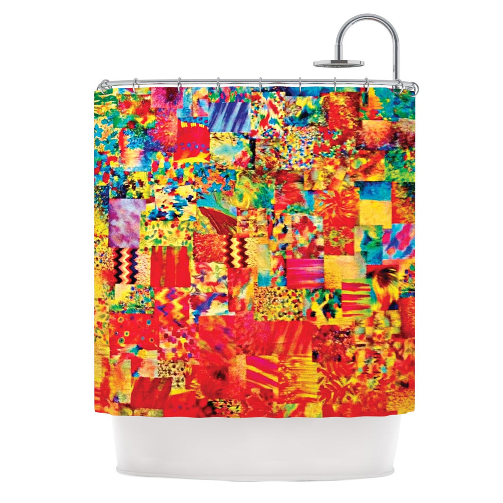 "Ebi Emporium ""Painting the Soul"" Shower Curtain - KESS InHouse"